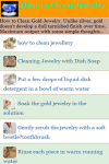 How to Clean Jewelry screenshot 2/3