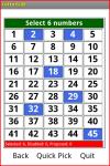 Lotto 6/45 screenshot 1/2