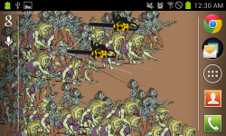Zombie Flood Live Wallpaper and Minigame screenshot 1/3