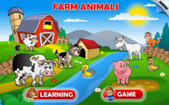New Kids Animals Farm and Zoo Free screenshot 1/6