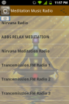 Meditation Music Radio Relaxing screenshot 1/5