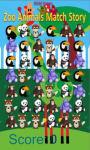 zoo animals match Story game free screenshot 2/4