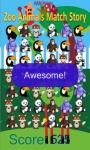 zoo animals match Story game free screenshot 3/4