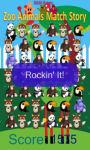 zoo animals match Story game free screenshot 4/4