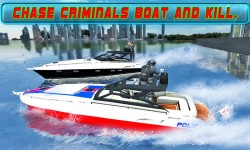 Boat Driving 3D: Crime Chase screenshot 1/4