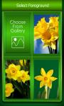 Zipper Lock Screen Daffodil screenshot 3/6