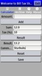 Bill Tax Sharing PRO screenshot 1/3