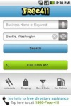 FREE411 Yellow Pages Search screenshot 1/6