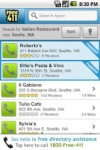 FREE411 Yellow Pages Search screenshot 2/6