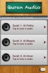 Quran Audio screenshot 1/1