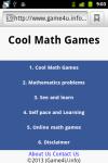 Cool Math Games screenshot 1/4