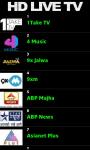HD Live TV Mobile screenshot 2/2