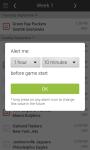 NFL Pro Football Schedules Live Scores Alerts screenshot 4/6