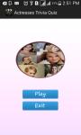 Actresses  Quiz screenshot 1/4