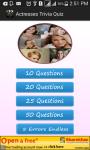 Actresses  Quiz screenshot 2/4