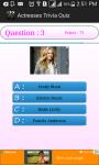 Actresses  Quiz screenshot 3/4