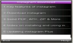 Instagram mobile download screenshot 1/1