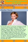 Highest Paid Actresses in World  screenshot 3/3