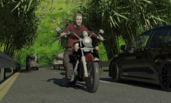 Moto Racer With Traffic game screenshot 1/5