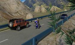 Moto Racer With Traffic game screenshot 2/5