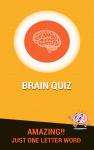 Brain Quiz - Just One Word screenshot 1/4