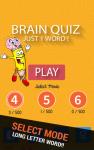 Brain Quiz - Just One Word screenshot 2/4