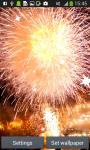 Fireworks Live Wallpapers screenshot 3/6