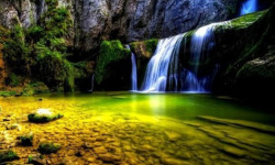 Wallpaper Waterfall HD screenshot 2/6