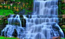 Wallpaper Waterfall HD screenshot 3/6