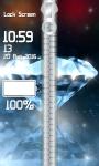 Diamond Zipper Lock Screen Top screenshot 4/6
