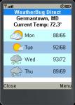 WeatherBug Direct screenshot 1/1