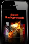Skull & Halloween Backgrounds screenshot 1/1