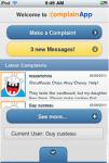 ComplainApp screenshot 1/2