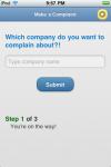 ComplainApp screenshot 2/2