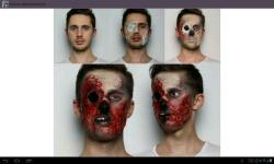 Halloween Makeup Step by Step screenshot 1/4