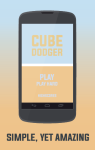 Cube Dodger  screenshot 1/4