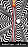 Illusion Zipper Lock Screen Free screenshot 1/6