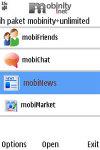 mobinity Java screenshot 1/1