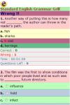 Standard English Grammar Grill screenshot 3/3