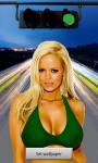 Sexy Bikini Traffic Girl LWP screenshot 3/6