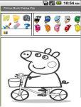 Peppa Pig - Colour book screenshot 2/3