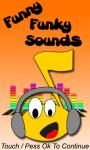 Funny Funky Sounds screenshot 1/1