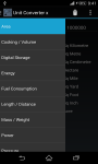 Unit Converter X screenshot 4/4