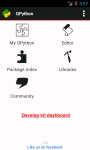QPython - Python for Android screenshot 1/5