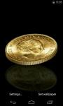 Coin 3D Live Wallpaper screenshot 1/4