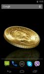 Coin 3D Live Wallpaper screenshot 2/4