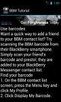 BBM Tutorial And Guide screenshot 4/4
