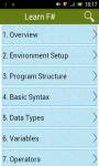 Learn F Sharp screenshot 1/2