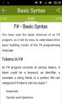 Learn F Sharp screenshot 2/2