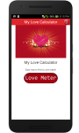 My Love Calculator : Valentine screenshot 2/4